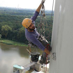 Malowanie masztów, kominów, zbiorników, mostów, prace wysokościowe Frendo Gorzów