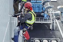 prace montażowe prace na wysokościach